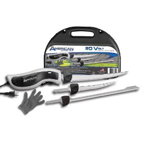 American Angler 110V Efk Freshwater Shark Blade and Fillet Kit
