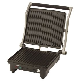 Biggest Loser AG-1300-BL 2-in-1 Double-Up Grill and Panini Press