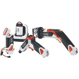 Black & Decker VPX903X1 Li-Ion VPX Starter Set with Power Screwdriver, Cut Saw, Flashlight, and VPX Battery with Charger