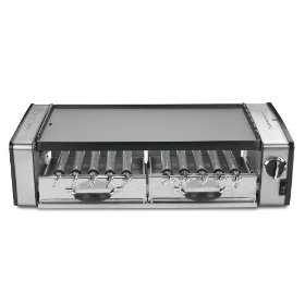 Cuisinart GC-17 Griddler Grill Centro 1700-Watt 2-Tier Grill/Griddle with Rotating Skewers