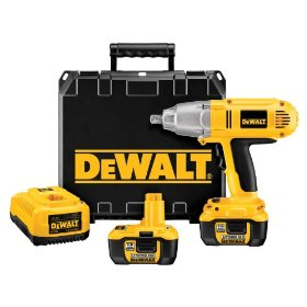 DEWALT DCF059Kl  1/2-Inch 18-Volt Cordless Lithium-Ion Impact Wrench Kit