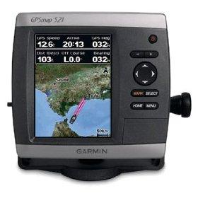Garmin GPSMAP 521s w/dual frequency transducer