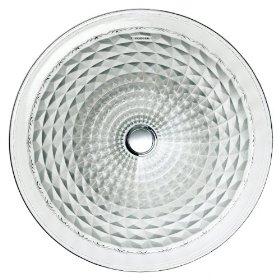 KOHLER K-2361-B11 Kallos Spun Glass Undercounter Lavatory, Ice