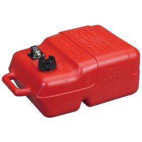 Moeller Scepter Topside Marine Fuel Tank with Gauge (6.6-Gallon)