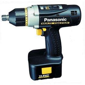 Panasonic EY6535GQW 15.6-Volt NiMH Cordless Multi Drill/Driver Kit