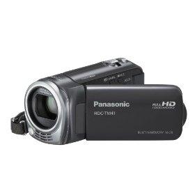 Panasonic HDC-TM41H HD Camcorder with 16GB Internal Flash Memory (Black)