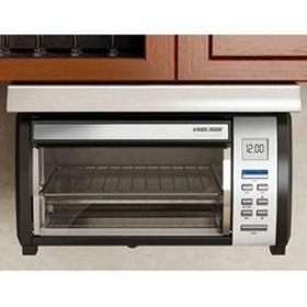 Applica 4 Slice Toaster Oven Black & Decker Spacemaker Plus Toaster New Stainless Steel Design