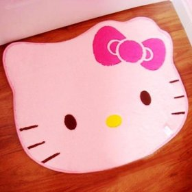 Hello Kitty Small Area Rug: Toys & Games