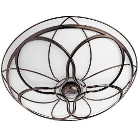 Hunter 82004 Orleans Bathroom Fan with Light, Imperial Bronze: Home Improvement