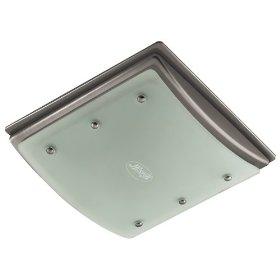 Hunter 90064 Bent Alabaster Glass Bathroom Fan: Home Improvement