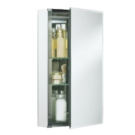 KOHLER K-CB-CLC1526FS Single Door 15-Inch by 26-Inch by 5-Inch Aluminum Cabinet: Home Improvement