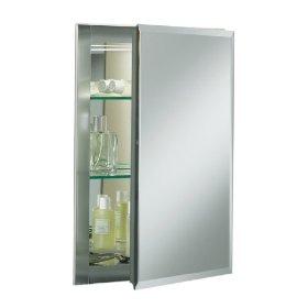 KOHLER K-CB-CLR1620FS Single Door 16-Inch W by 20-Inch H by 5-Inch D Aluminum Cabinet: Home Improvement