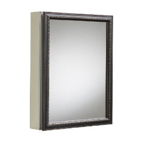 Kohler K-2967-BR1 Aluminum Cabinet with Oil-Rubbed Bronze Framed Mirror Door, Oil-Rubbed Bronze: Home Improvement