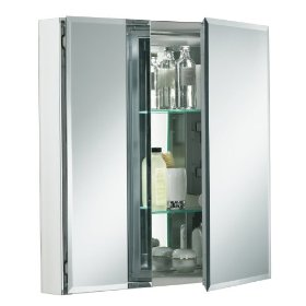 KOHLER K-CB-CLC2526FS 25-by-26-by-5-Inch Double Door Aluminum Cabinet: Home Improvement