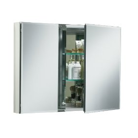 KOHLER K-CB-CLC3526FS 35-by-26-by-5-Inch Double Door Aluminum Cabinet: Home Improvement