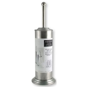 LDR 164 6458BN Ashton Toilet Brush and Can, Brushed Nickel: Home Improvement
