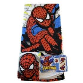 Marvel Spider-Man Towel Set - 2-Piece Spiderman Bath Set: Toys & Games