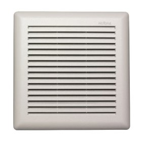 NuTone Model 671R Fan, 90 CFM 3.0 Sones, White Grille, with 4-Inch Duct: Home Improvement