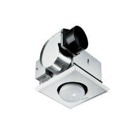 NuTone 70 CFM One-Bulb Heat-A-Vent Bathroom Exhaust Fan: Home Improvement