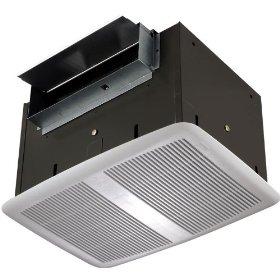 Nutone QT300 300 CFM High Capacity Fan, White Grille: Home Improvement