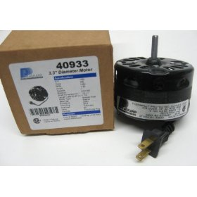 PACKARD 3.3 Inch Diameter Vent Fan Motor Direct Replacement For Nutone / Broan: Home Improvement
