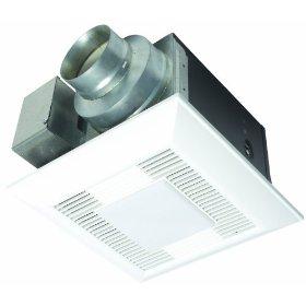 Panasonic FV-08VQL5 Whisper-Lite 80 CFM Ceiling Mounted Fan/Light Combination, White: Home Improvement