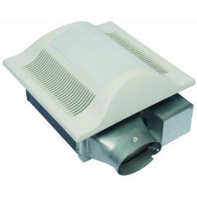 Panasonic FV-10VSL1 WhisperValue 100 CFM Super Low Profile Ventilation Fan with Light, White: Home Improvement
