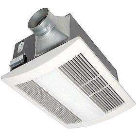 Panasonic FV-11VHL2 WhisperWarm 110 CFM Ceiling Mounted Fan/Heat/Light-Night-Light Combination, White: Home Improvement
