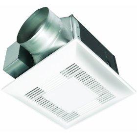 Panasonic FV-15VQL5 WhisperLite 150 CFM Ceiling Mounted Fan/Light Combination, White: Home Improvement