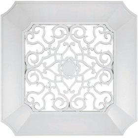 Panasonic FV-GL3TDB 14-1/2-Inch ABS Designer Vent Grille, White Finish: Home Improvement