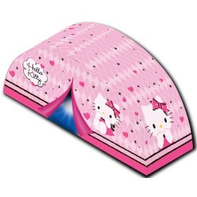 Sanrio Hello Kitty Sassy Slumber Bed Tent: Home & Kitchen