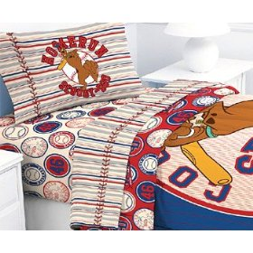 Scooby-Doo Baseball Sports - 3pc Bed Sheet Set - Twin Size: Home & Kitchen