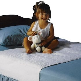 Soaker Mattress Pad - 34in x 36 in with Tuck-in Sides: Baby